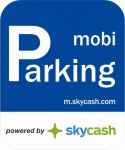 Naklejka MobiParking SkyCash Sky Cash Mobi Parking